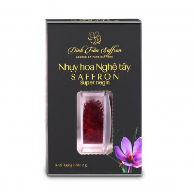Saffron - Nhụy hoa Nghệ tây Dĩnh Trần - 2g