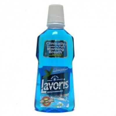 Nước súc miệng Lavoris hương bạc hà